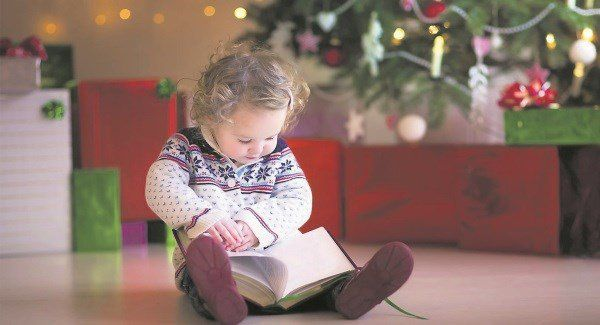 The perfects books to fill your childs stocking this Christmas