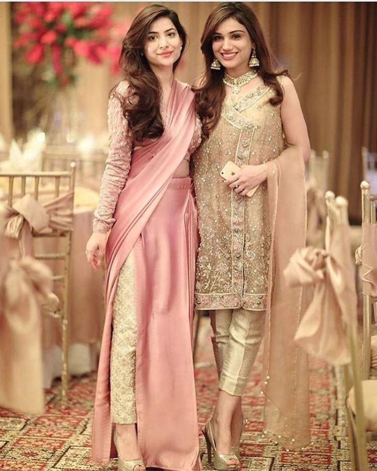 Pant sari. New design concept.