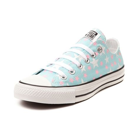 Shop for Converse Chuck Taylor All Star Lo Stars Sneaker, Blue Pink, at  Journeys Shoes. The stars are aligned for the new Stars Sneaker from  Converse!