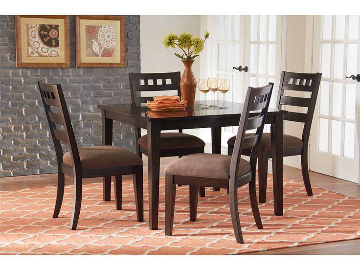 Standard Furniture Sparkle 5 Piece Tile Inset Dining Table Set
