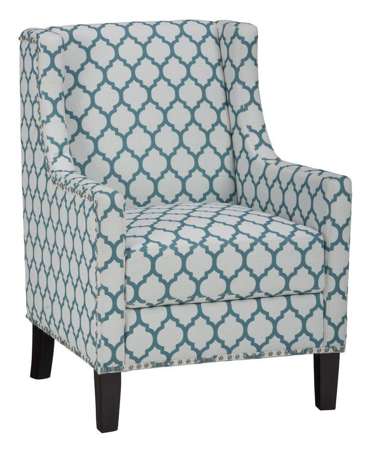 Accent chairs jeanie club chair in aqua blue by jofran