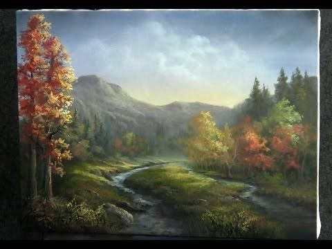 Paint with Kevin Hill - Wildflower Mountains - YouTube