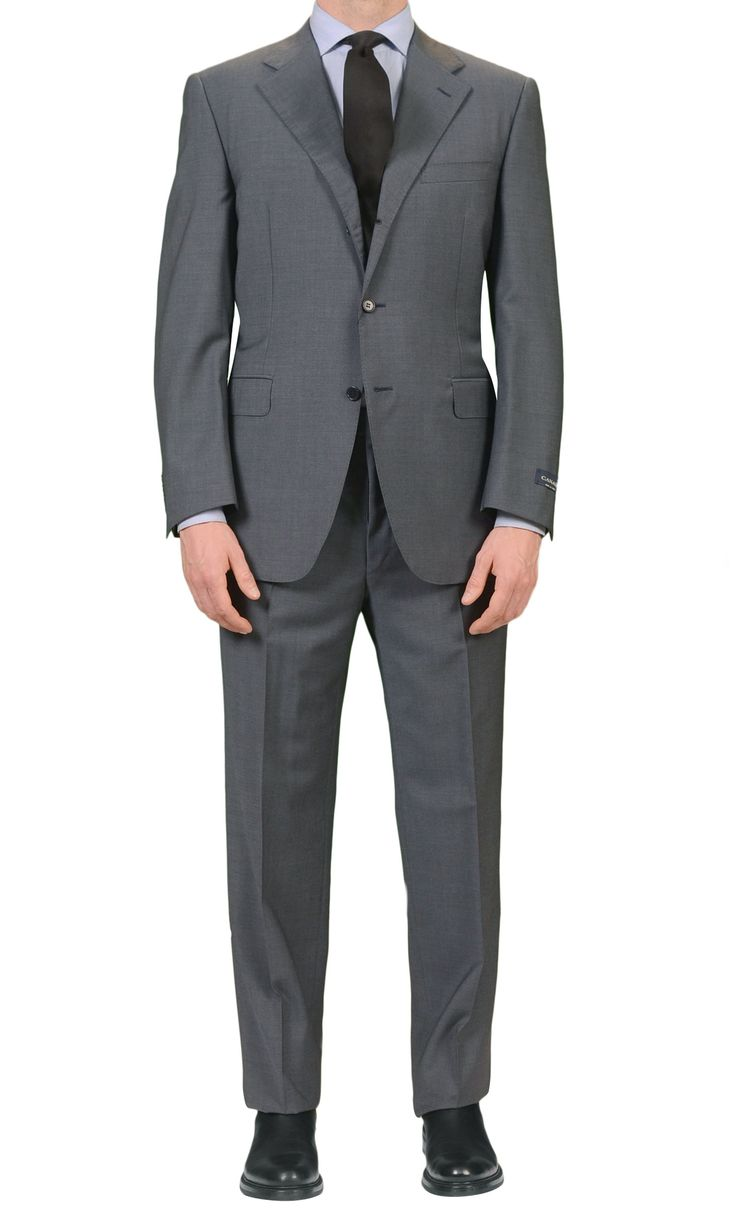"CANALI Italy Blue Plaid Wool-Mohair Suit Classic Fit ""Natural Comfort"" NEW"