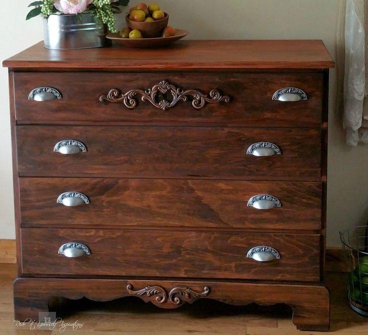 Class up a Plain Dresser with Wooden Appliques