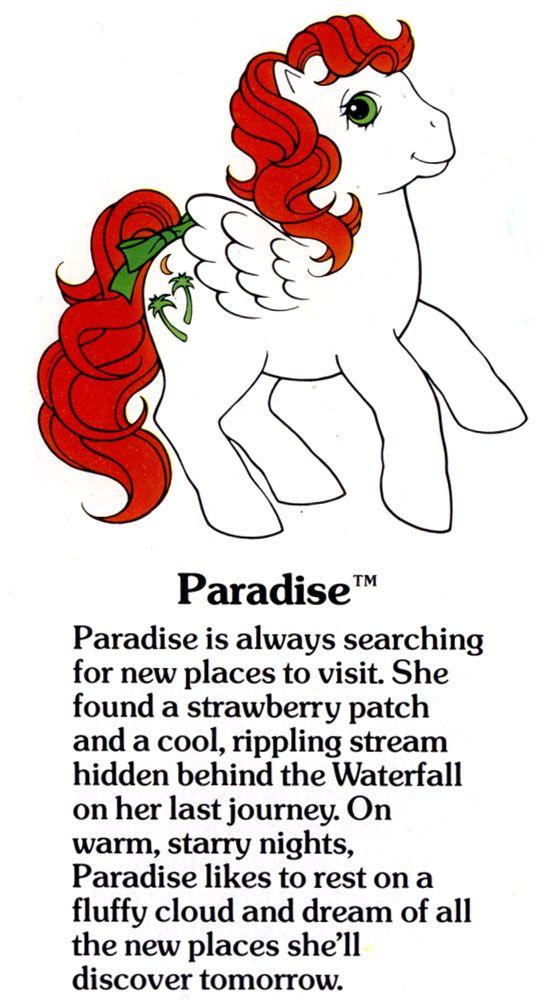 My Little Pony Paradise fact file ...
