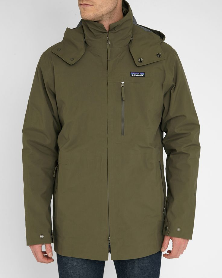 Khaki 3-in-1 Roys Bay Parka - PATAGONIA - Parkas PATAGONIA for men, All Mens Fashion and Clothing is available to buy on Menlook.com - Over 250 brands to discover