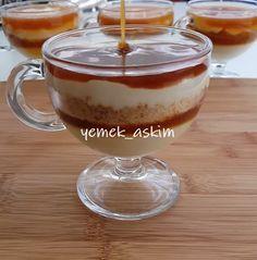 Akşam için hafif bir tatlı yapmak istermisiniz karamelli magnoliayı deneyebilirsiniz muhallebinin yumuşak dokusu karamelin aroması gerçekten m�..