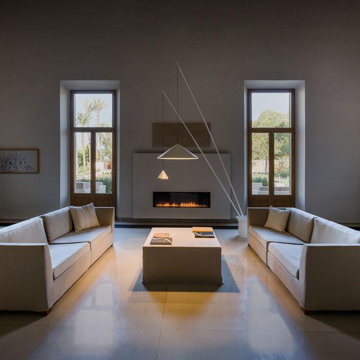 """Mellow mornings with a warm light""  #interiordesign #lighting #lightingdesign   http://www.vibia.com/en/north-floor-lamps-floor/?utm_source=social&utm_medium=pinterest&utm_campaign=north_floor_product_ue&utm_content=utm_term=pint_home"