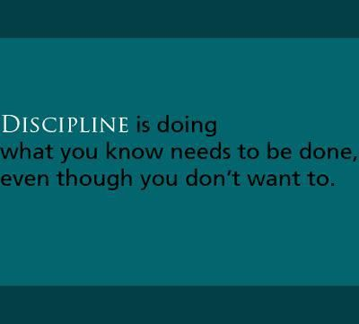 """The only discipline that lasts is self-discipline.""  ~Bum Phillips~ 9/29/1923    #inspiration #alcoholism #addiction"