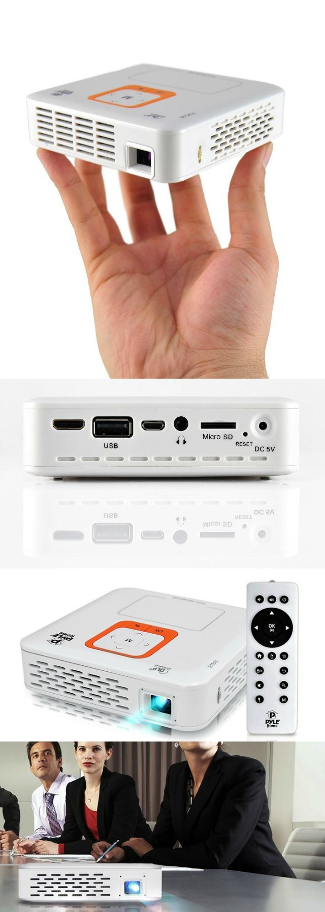 Pyle smart pocket projector presentations in your palm for Palm projector