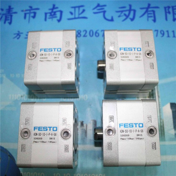 47.00$  Watch more here - http://aioyl.worlditems.win/all/product.php?id=32459034611 - FESTO ADN-50-10-I-P-A-S6  536309 Compact type cylinder air cylinder pneumatic component air tools ADN series