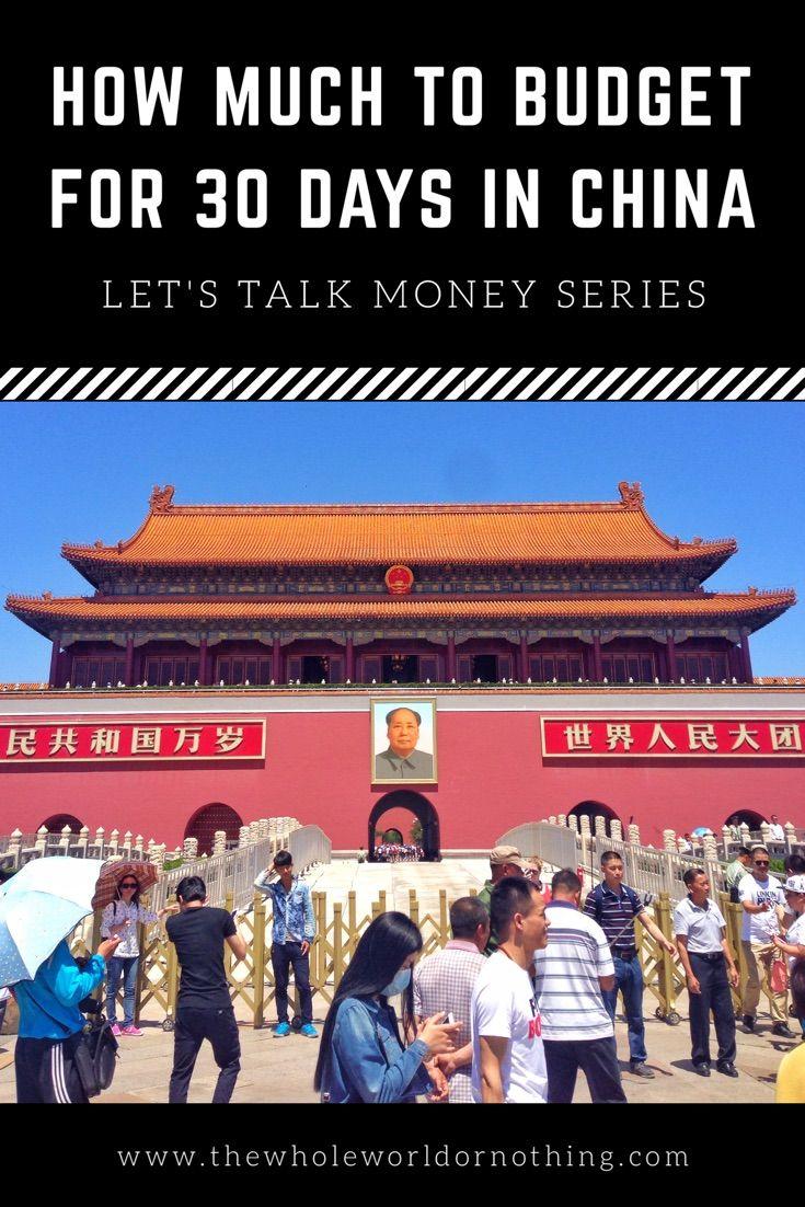 Budget China | Backpacking China | China Travel Costs | China How Much