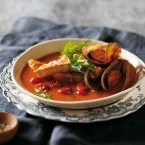 Fish and mussel soup