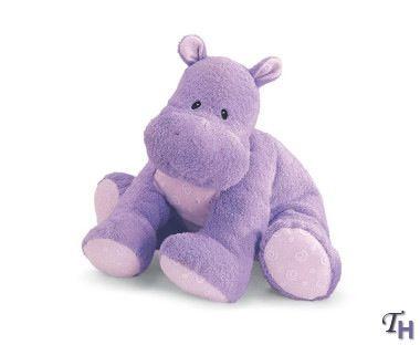 Purple Hippo Birthday Cake