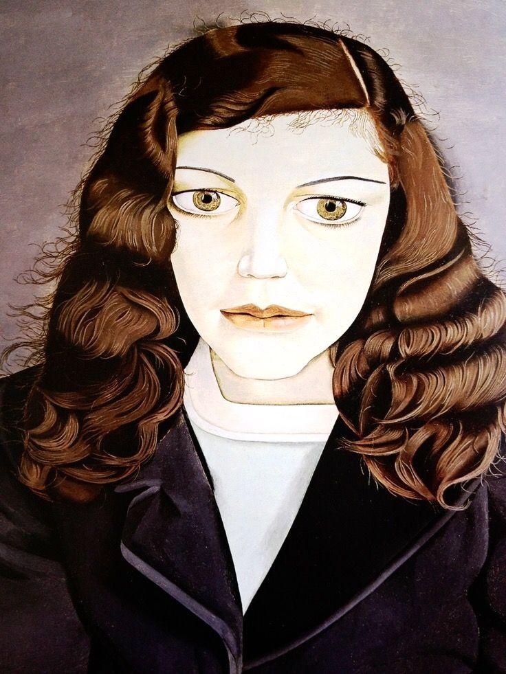 Lucian Freud-Girl in a dark jacket