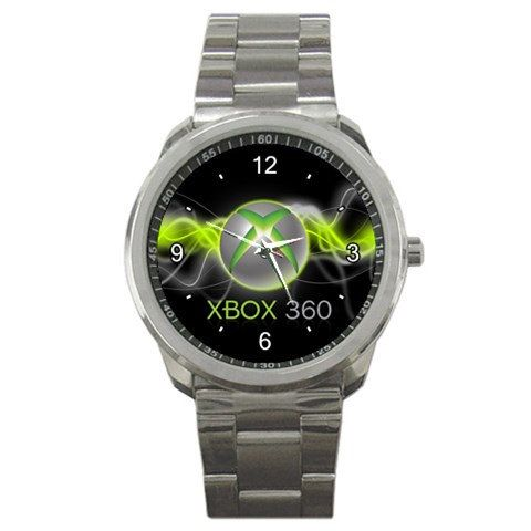 New Xbox 360 Inspired logo mens sport watch by tukangpos on Etsy