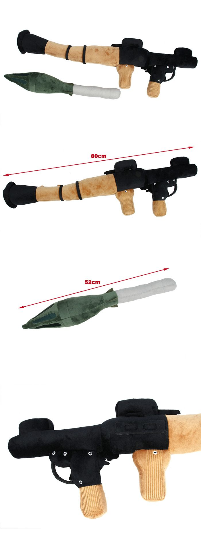 This TMC RPG Style Pillow is RPG rocket replica dummy. It don't have any function, just a pillow which can use for milsim.