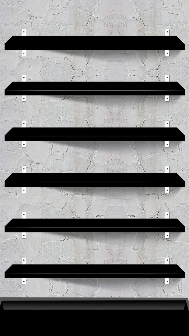 ↑↑TAP AND GET THE FREE APP! Shelves Stylish Grey Concrete Texture Minimalistic HD iPhone 6 plus Wallpaper