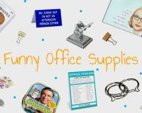 We're back with even MORE funny office supplies and unique office gadgets! Get ready for some of the weirdest, wonderfully fun supplies we could find!
