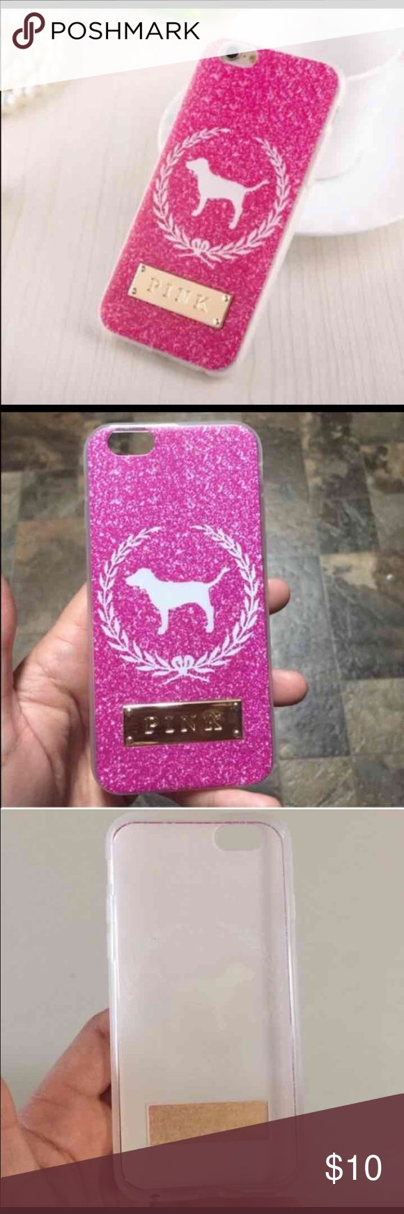 Pink case iPhone 6/6S Cute VS pink soft case for iPhone 6/6S.                      New PINK Victoria's Secret Accessories Phone Cases