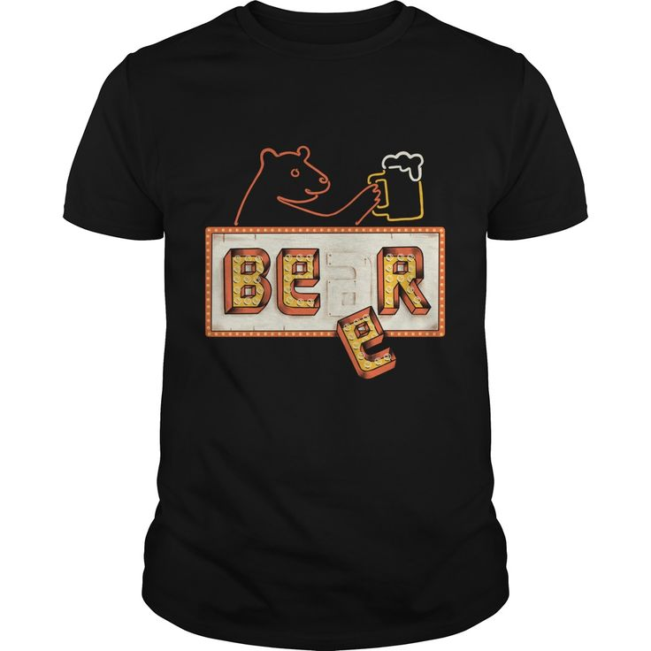 Bear or Beer. Funny and Clever Beer Drinking Quotes, Sayings, T-Shirts, Hoodies, Tees, Clothing, Gifts. #beer