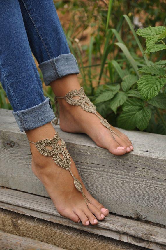 As Maravilhas da Maternidade: Sandálias descalças - barefoot sandals