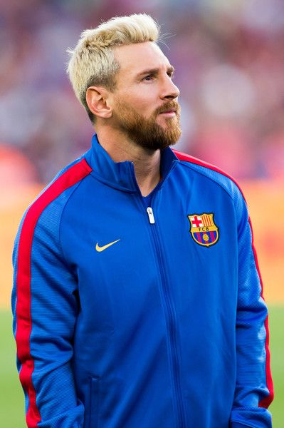Lionel Messi of FC Barcelona looks on ahead of the Joan Gamper trophy match between FC Barcelona and UC Sampdoria at Camp Nou on August 10, 2016 in Barcelona, Catalonia..