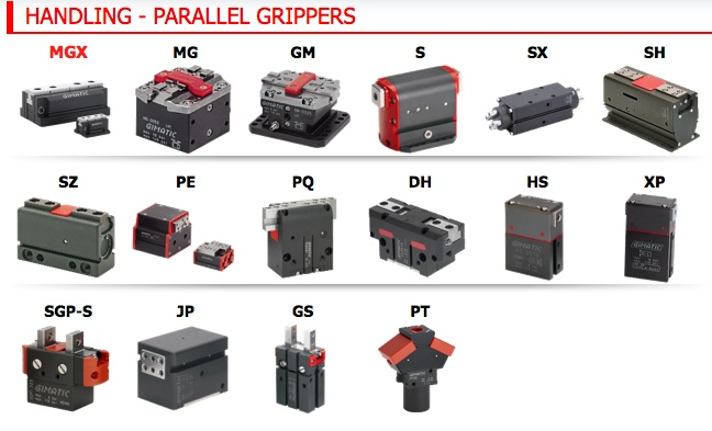 Parallel Grippers  http://www.gimatic.com