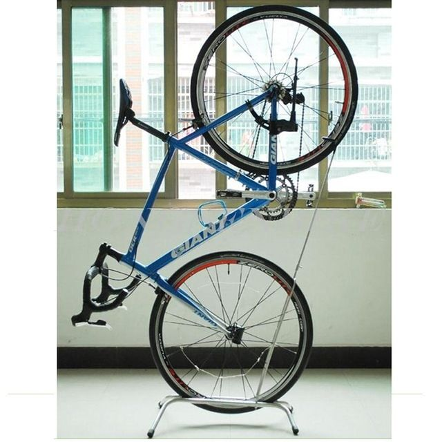 source garage storage stand up bike stand indoor vertical bike rack stand on malibaba - Indoor Bike Rack