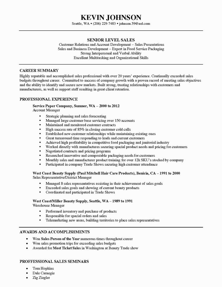 outside sales resumes template best resume