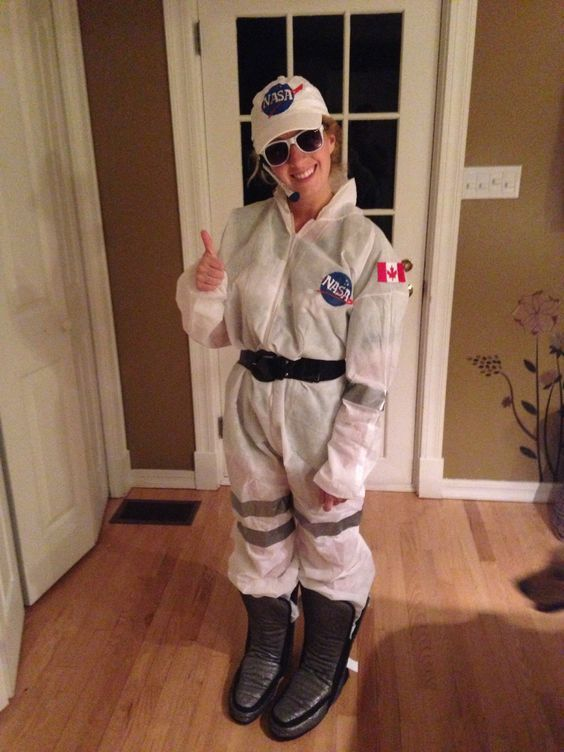 Astronaut Kostüm selber machen   Kostüm Idee zu Karneval, Halloween & Fasching