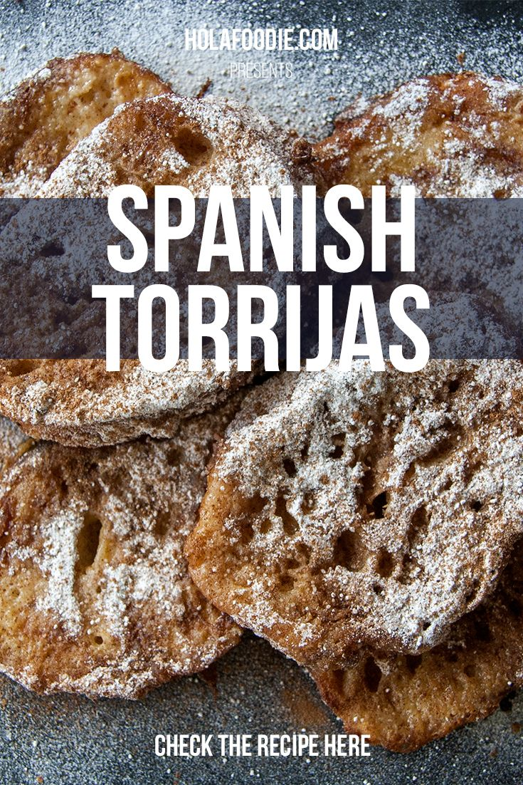 A quick and easy milk-soaked Spanish torrijas recipe. A traditional Eastern dessert that is still delicious all year round: http://holafoodie.com/recipe/milk-soaked-torrijas/