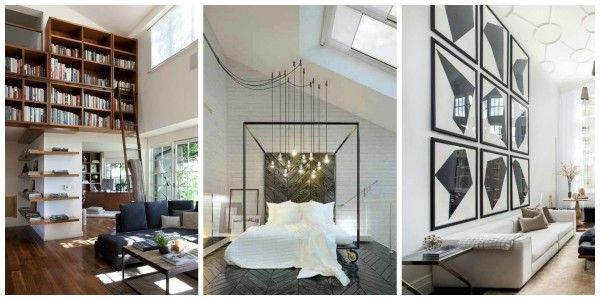 1000 ideas about decorating tall walls on pinterest