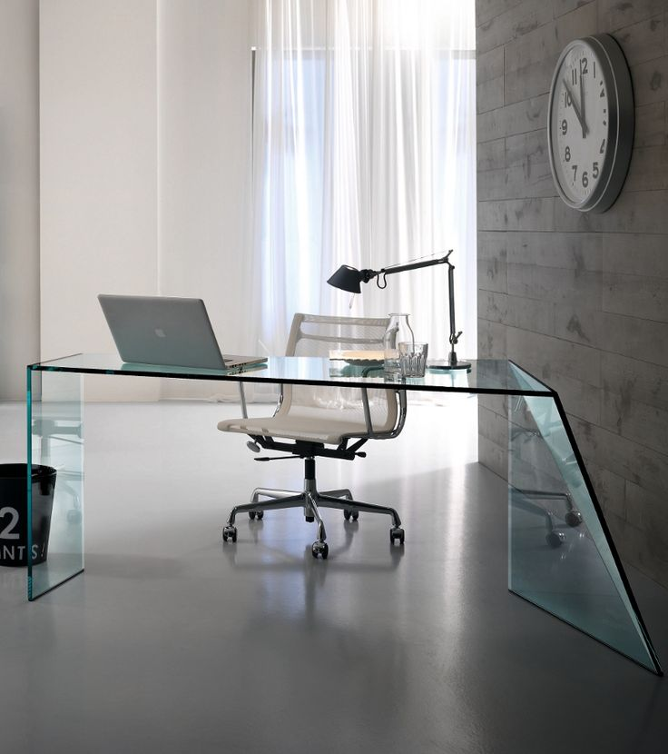 the stunning penrose desk from tonelli design is a wonderfully luxurious glass desk that will bring a touch of glamour to your contemporary home office