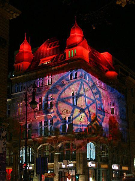 Festival of Lights - Charlottenstraße corner Unter den Linden Photo by Corina Wagner