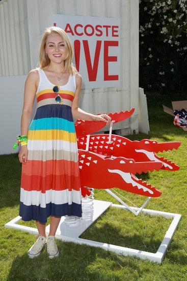 AnnaSophia Robb at Lacoste 2013 Coachella Party | Pictures