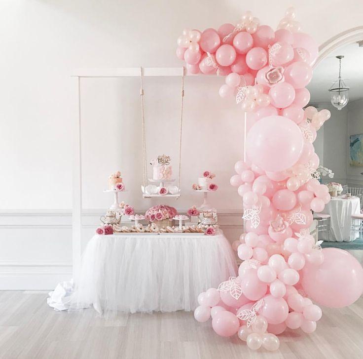 Pretty Balloon Garland 265 best Cumple images