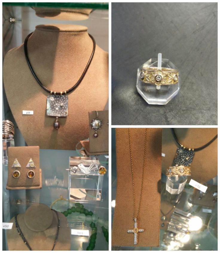 A collage of fine jewelry by Ilse Malan. For more please visit www.finearts.co.za #jewelry #jewelerry #accessories #CustomMade #FineArt #IlseMalan