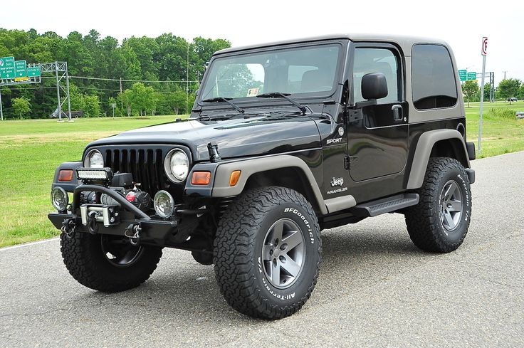 Car brand auctioned:Jeep Wrangler TJ Sport / Low Miles / New Lift / 1 Owner / Clean! 2005 Car model jeep wrangler sport 84 k new lift mods 6 speed 1 owner watch vid