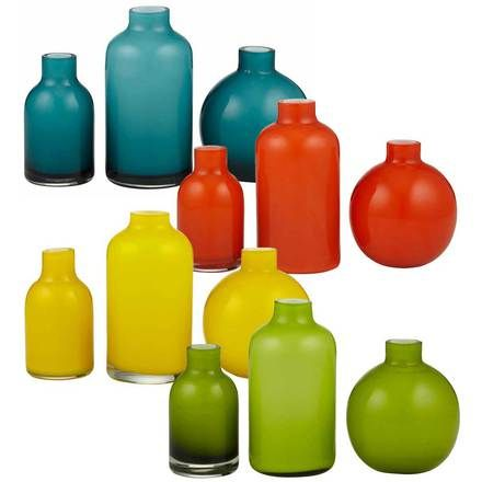 Jelly Bean Set Of 3 Vases amalfi $36.95 set of 3 11-15cm