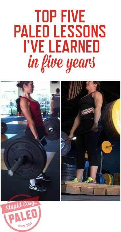 Read all about the top Paleo lessons I've learned in the past five years since going Paleo in January 2010!
