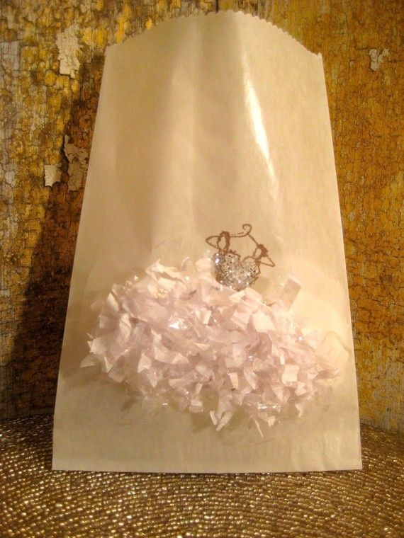Glassine Bags Gift Sacs MADEMOISELLE FROU by 5dollarfrenchmarket