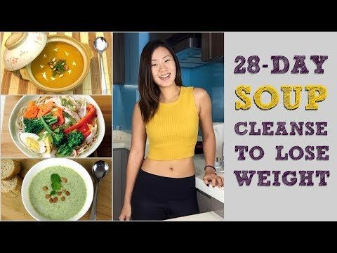 Healthmace.com - View Health Video - 28-Day Soup Detox Cleanse to Lose Weight (M...