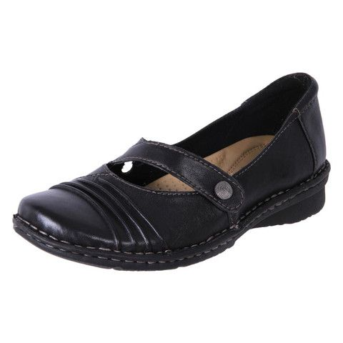 Planet Shoes Womens Leather Comfort Work Shoes Masie Black | The Shoe Link