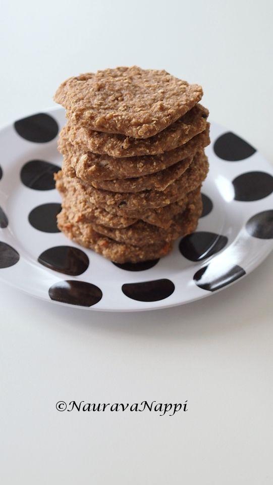 Sormiruokailijan herkkukeksit! #sormiruoka #terveellisetkeksit #blw #healthycookies