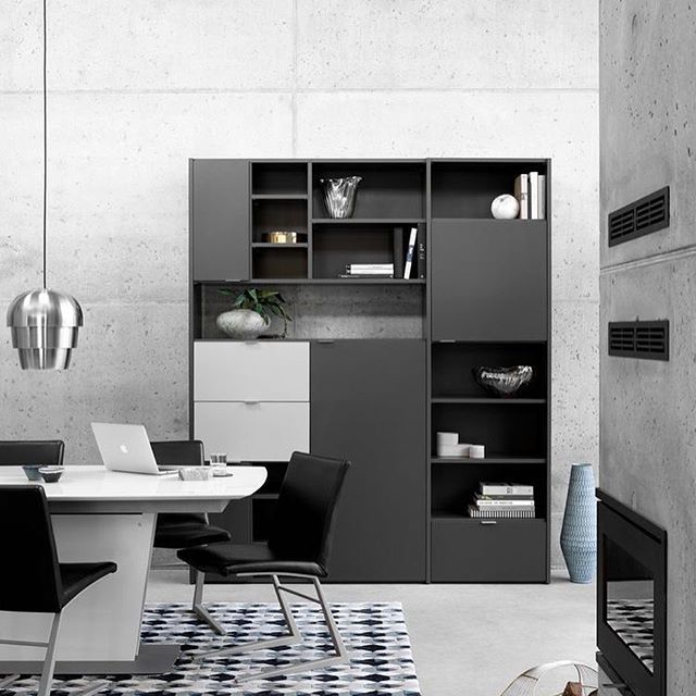 Dining room goals... #thanksgiving #fall #losangeles #boconcept #losangeles #boconceptla #dining #interiordesign #concrete #minimalist