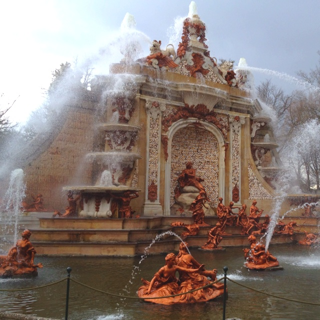 """Gorgeous fountains of La Granja de San Ildefonso - Castilla y León (España) -- [La Granja is actually where the 1989 """"Three Musketeers"""" was filmed, standing in for Versailles.]"""