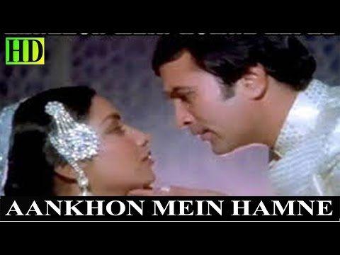Aankhon Mein Hamne | HD Song | Kishore Kumar, Lata Mangeshkar | Thodisi Bewafai(1980) - YouTube