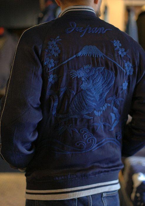 INDIGO SOUVENIR JACKET(インディゴスーベニアジャケット) | BLUE BLUE JAPAN | 聖林公司