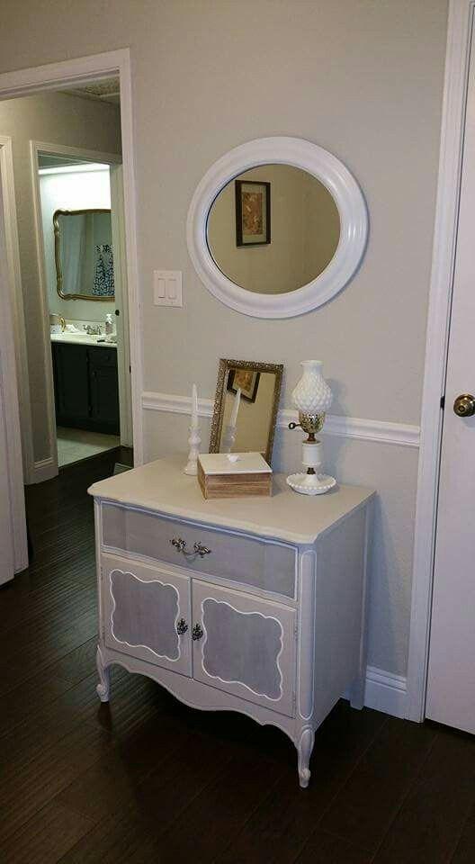 sherwin williams passive  walls maison blanche silver mink  franciscan gray cabinet
